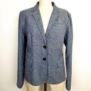 J. Crew Denim School Boy Blazer Jacket